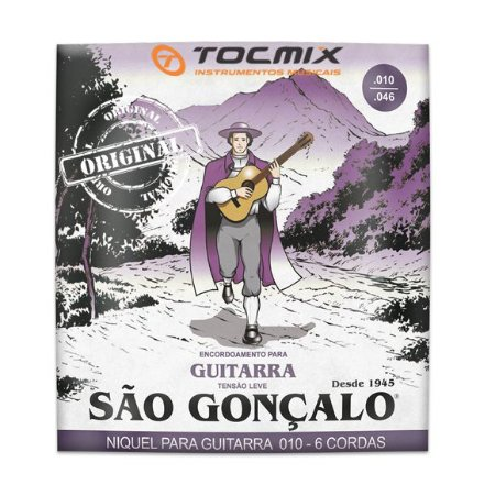 ENCORDOAMENTO GUITARRA 010 SAO GONCALO NIQUEL