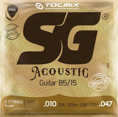 ENCORDOAMENTO AÇO 010 SG BRONZE 85 15