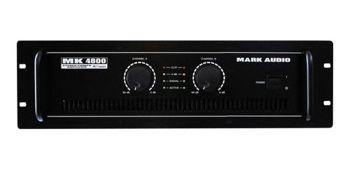 AMPLIFICADOR POTENCIA MARK AUDIO MK 4800 PRO