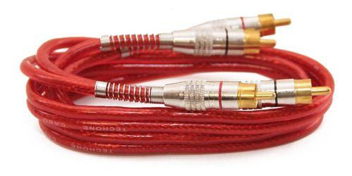 CABO 2 X 4 RCA 1MT P/ MODULO SVART VERMELHO