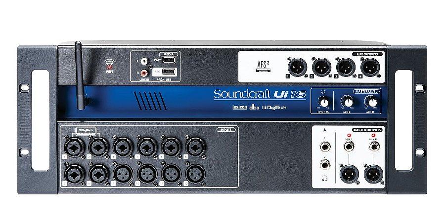 MESA DIGITAL SOUNDCRAFT 16 CANAIS UI16
