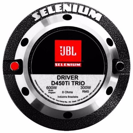 DRIVER SELENIUM D 450 TI TRIO D450 JBL TITANIUM 300W RMS 8