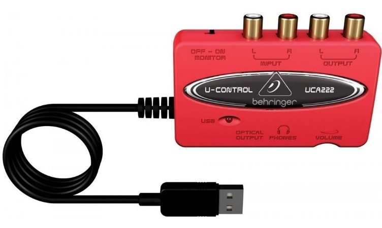 Interface De Audio Behringer Uca 222