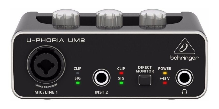 INTERFACE DE AUDIO BEHRINGER UM2 USB