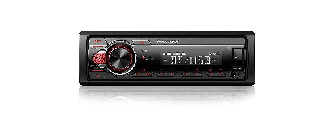 AUTO RADIO SOM MULTIMÍDIA AUTOMOTIVO  PIONNER MVH S218BT USB