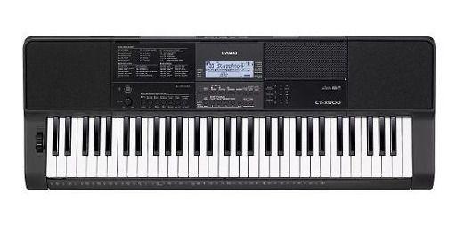 TECLADO CASIO MUSICAL PROFISSIONAL 61 TECLAS CT X800 CTX800