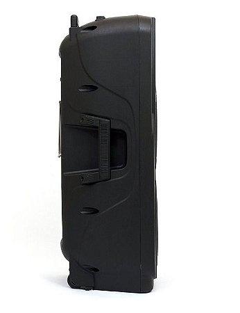 Caixa 10'' FRONTAL ATIVA LEXSEN LS 210 AB DUPLA BATERIA
