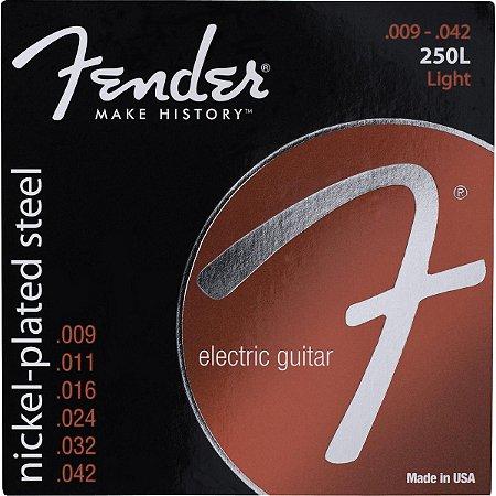 ENCORDOAMENTO GUITARRA 009 FENDER 250L NIQUELADO