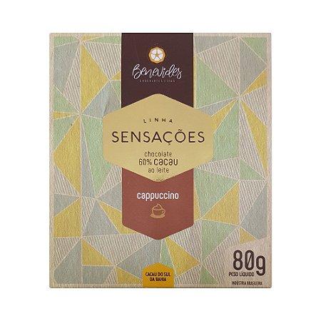 Benevides  60% com Cappuccino - Barra de 80g