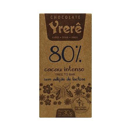 Yrerê  80% Intenso - Barra de 30g