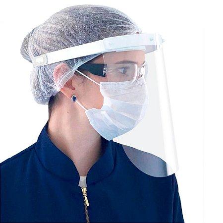 Protetor de Rosto com Certificado Anvisa - Kit c/ 10 unidades + 1 de bonificação - VisProtek - Aditek