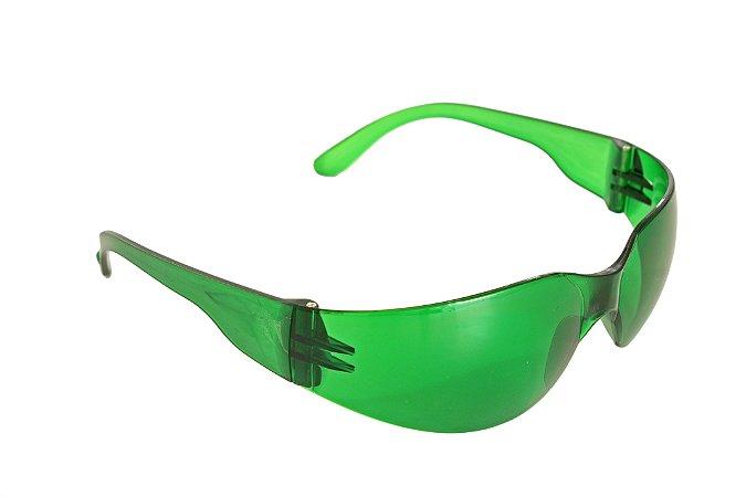 Óculos de Proteção Ecoline Verde Antiembaçante