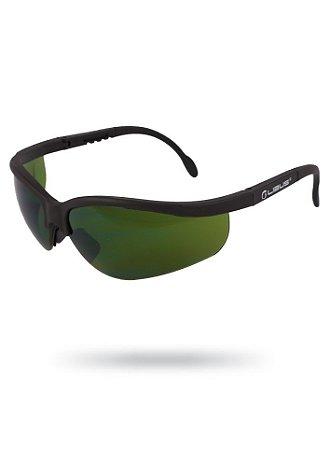 Óculos de Proteção Mig Verde Antirrisco