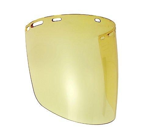 Viseira para Protetor Facial Tipo Bolha Amarelo