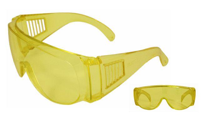 Óculos de Proteção Sobrepor Visita Amarelo sem tratamento