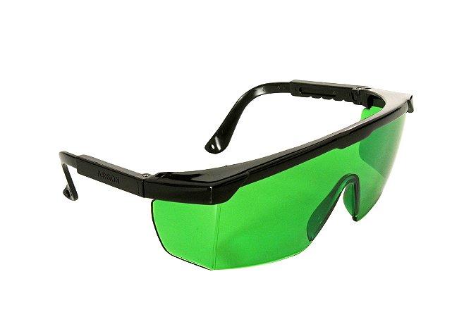 Óculos de Proteção Argon Verde Antirrisco