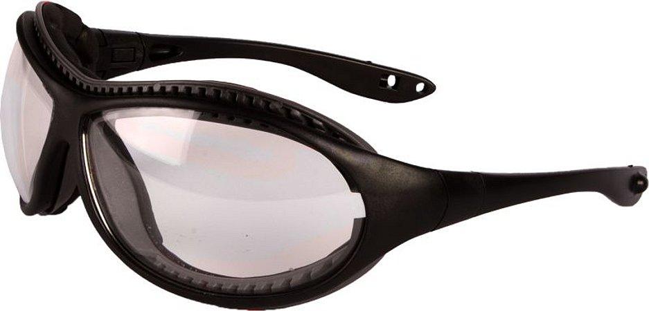 Óculos de Proteção Fall Dual Incolor Antiembaçante