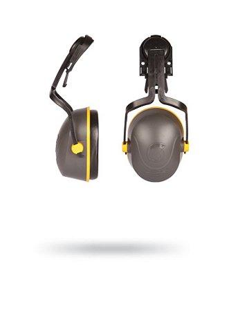 Protetor Auricular Abafador Tipo Concha L-340C de acoplar no capacete