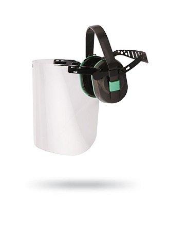 Kit Mecanização Leve: Abafador + Protetor Facial Plano