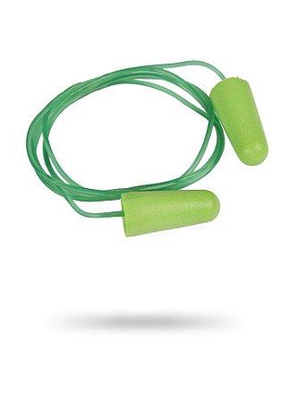 Kit com 20 Protetor Auricular Tipo Espuma Quantum Foam com Corda