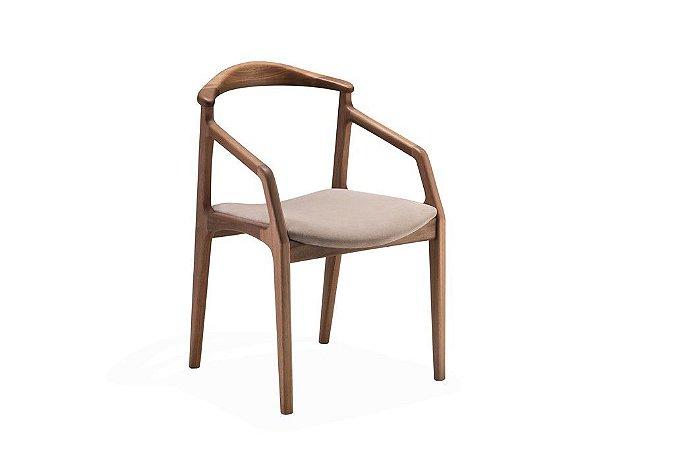 Cadeira Diva com braço (Couro)