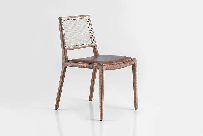 Cadeira Leblon Estofada (Couro)