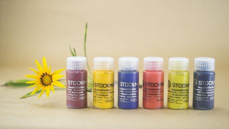 Aquarela Stockmar - 6 cores básicas