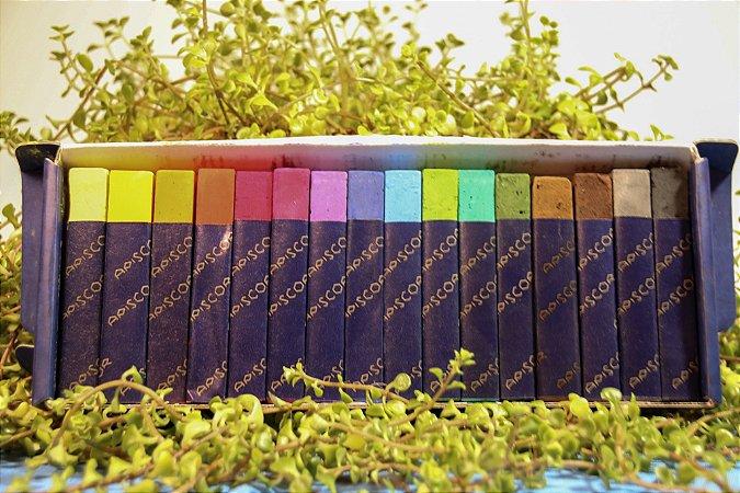 Giz de lousa Apiscor - 16 cores