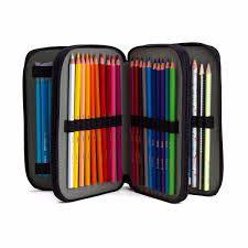 Estojo para 46 lápis