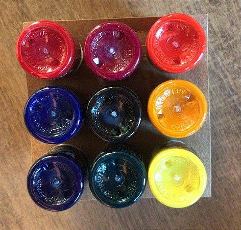 Aquarela Apiscor - kit com 9 cores