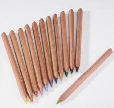 Lápis grosso hexagonal Yorik - estojo plástico com 12 lápis