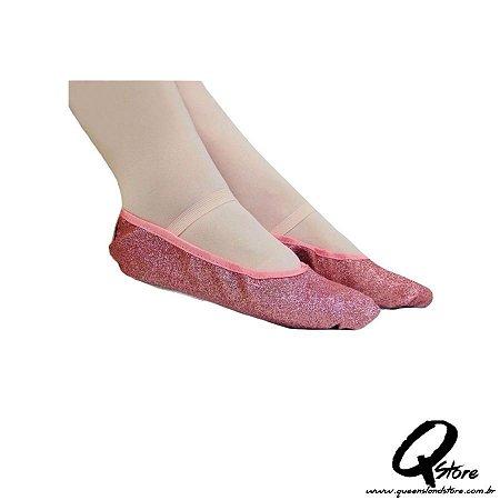 Sapatilha Glitter de Ballet Rosa - QueenslandStore