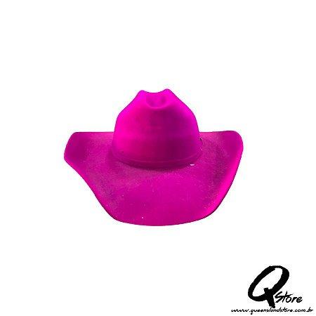 Chapéu Cowboy Camurça- Pink
