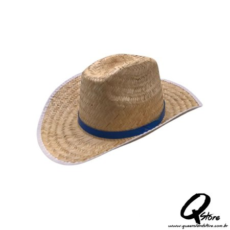 Chapéu de Palha Cowboy para Festa Junina- Adulto