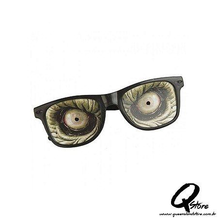 Óculos Zumbi c/ Lente em papel