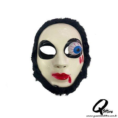 Máscara Fantasma Caolha Azul -Plástico