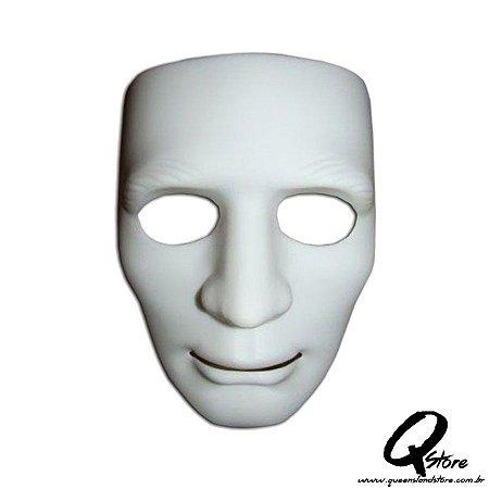 Máscara Bonitão Jabbawoockerz Branca -Plástico