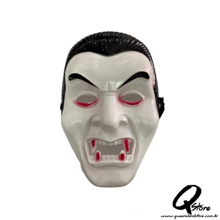 Máscara Drácula Halloween- Plástico