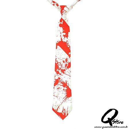 Gravata c/ Sangue - Halloween