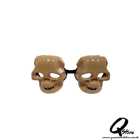Óculos Caveira s/ Lente - Plástico