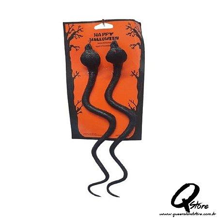 Kit Cobra de Borracha 2 Unidades -Halloween