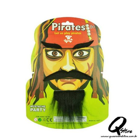 Kit Bigode - Pirata 2