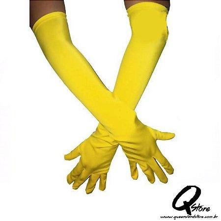 Luva Longa Amarela