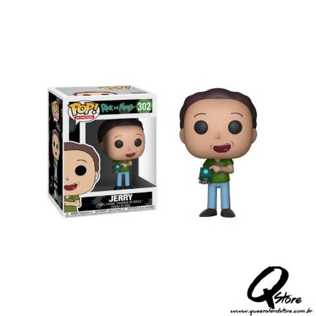 Pop! Jerry: Rick and Morty #302 - Funko