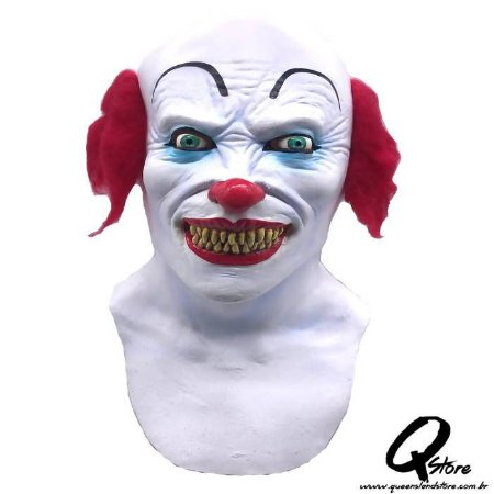 Máscara Látex Scary Clown