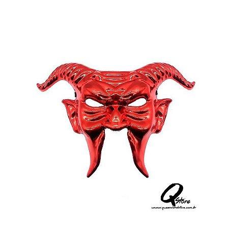 Máscara Diabo Vermelho