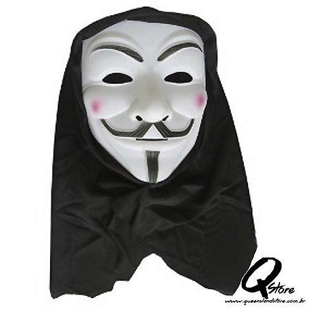 Máscara Anonymous c/ Capuz