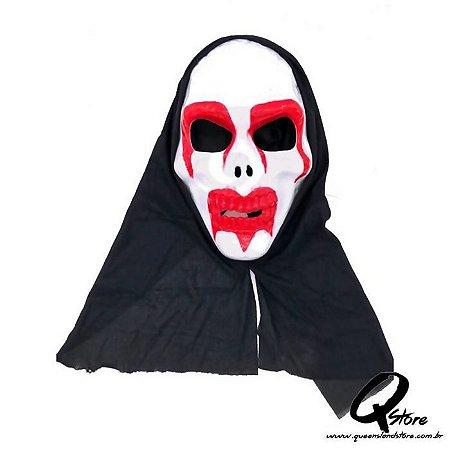 Máscara Caveira Sangue