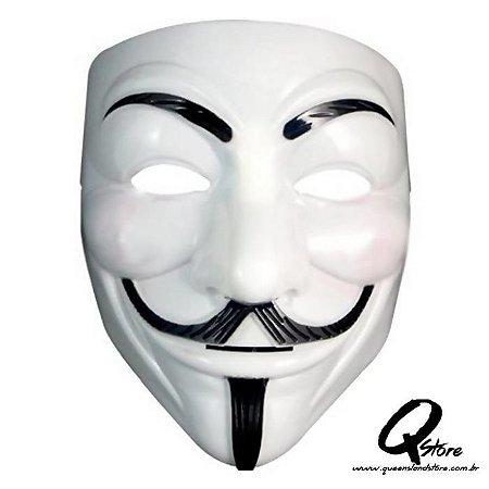 Máscara Rosto V de Vingança Anonymous