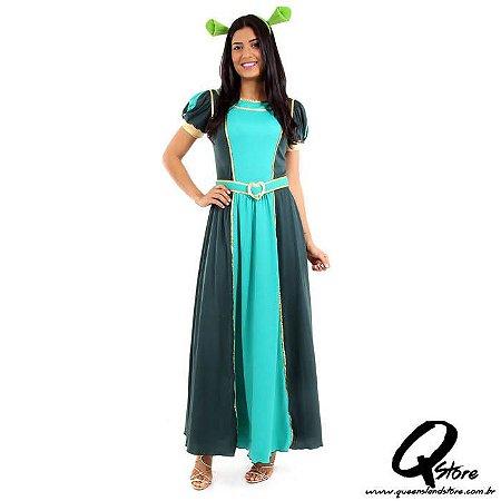Fantasia Princesa Fiona Adulto